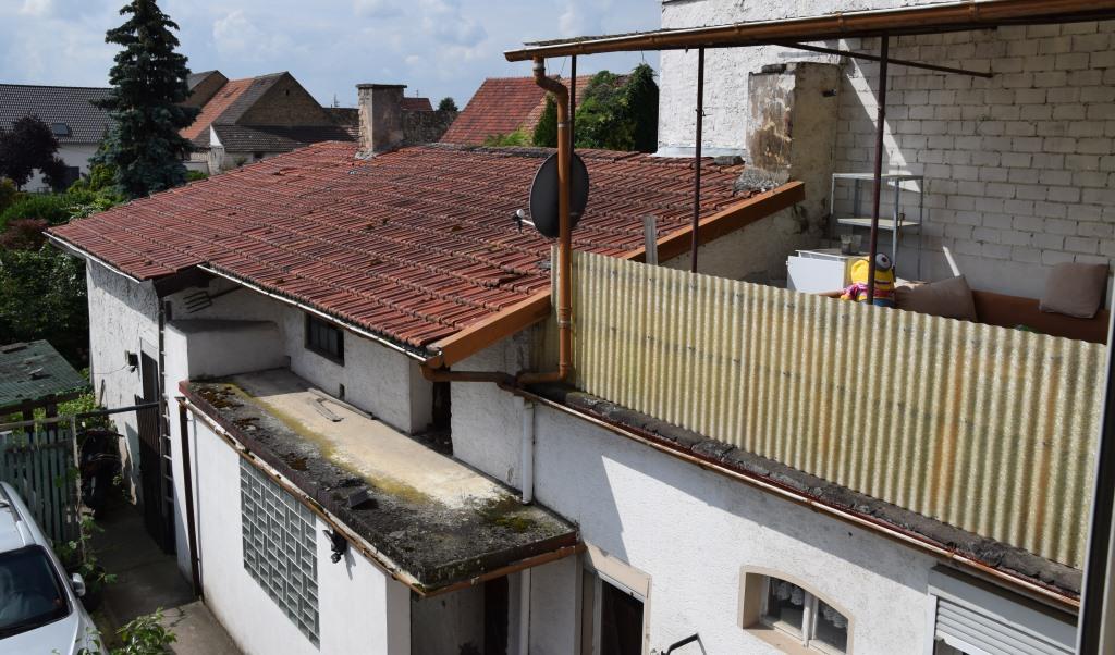 Aussenansicht mit Blick auf Dachterrasse
