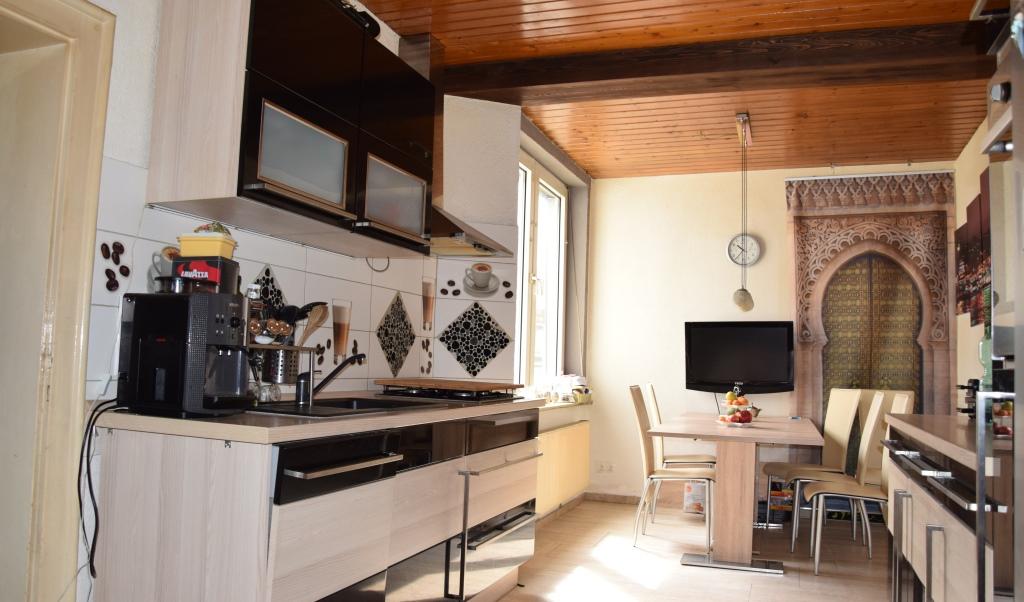 Küche bzw. Esszimmer