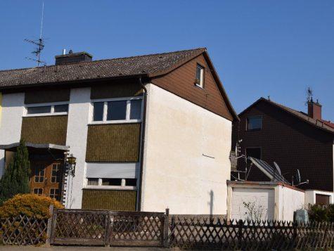 Doppelhaushälfte in ruhiger Lage mit Garten, Hof und Garage!!, 67258 Hessheim, Haus