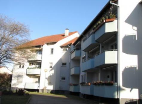Lu-Edigheim: Hübsche 4 ZKB mit Südbalkon! Hausansicht Eckdaten, 67069 Ludwigshafen, Wohnung
